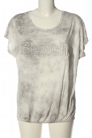 Bench Print Shirt light grey-natural white color gradient casual look