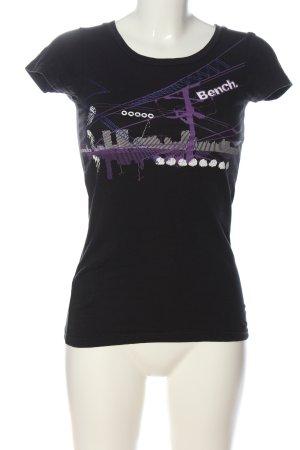Bench T-shirt imprimé imprimé avec thème style décontracté
