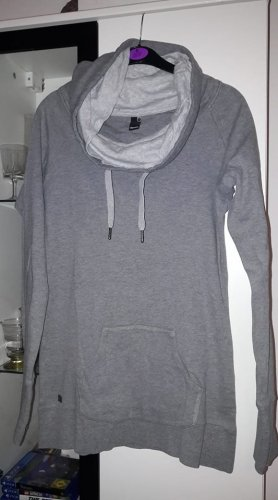 Bench Turtleneck Sweater silver-colored cotton