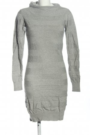 Bench Pulloverkleid hellgrau Allover-Druck Casual-Look