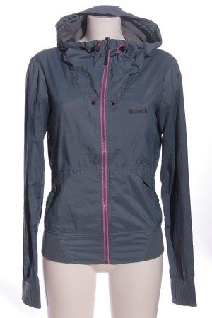 Bench Regenjacke blau-pink sportlicher Stil