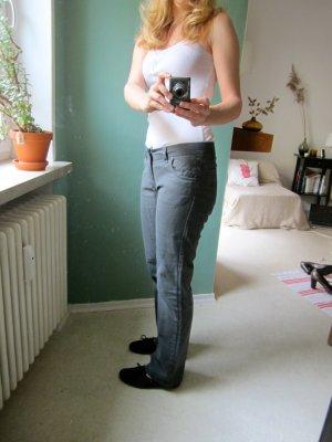 Bench Five-Pocket Trousers grey cotton