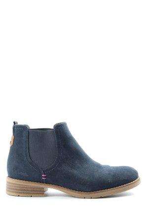 Bench Wciągane buty za kostkę niebieski W stylu casual