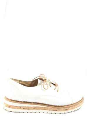 Bench Chaussures à lacets blanc style décontracté