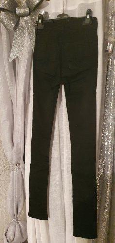 Bench schwarze highwaist skinny jeans gr.24/32