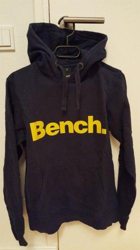 Bench Hooded Sweater dark blue cotton
