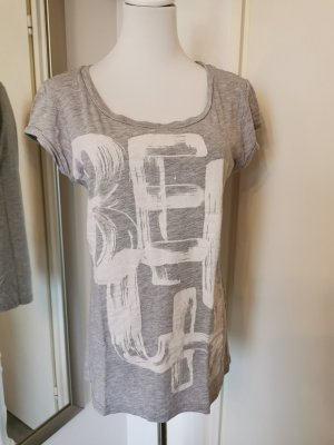 Bench Print Shirt silver-colored cotton