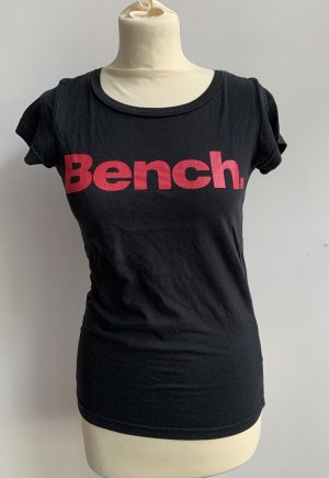 Bench Shirt // schwarz pink