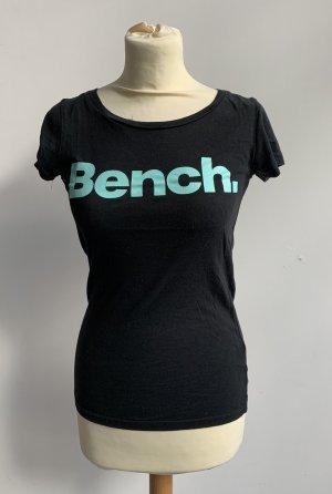 Bench Shirt // schwarz türkis