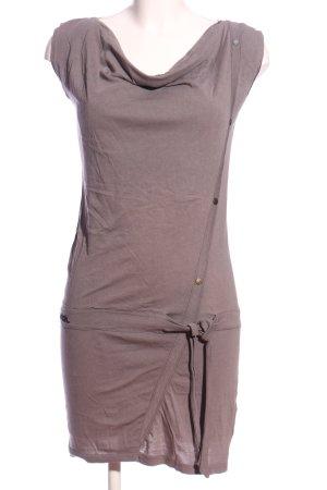Bench Shirtkleid hellgrau Casual-Look