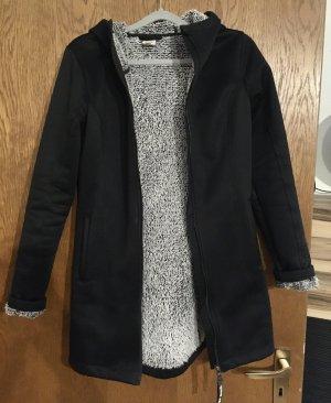 Bench Softshell Jacket black-white