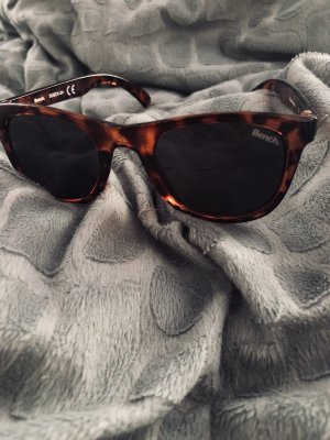 Bench Ronde zonnebril zwart bruin-bruin