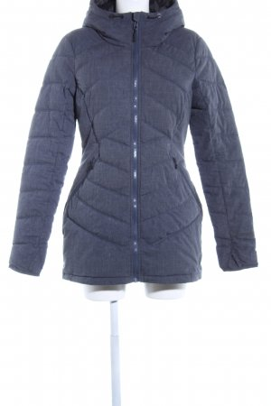 Bench Quilted Coat blue flecked casual look