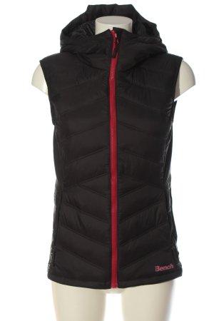 Bench Gewatteerd vest zwart quilten patroon casual uitstraling