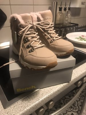 Bench Lace-up Boots dusky pink-beige