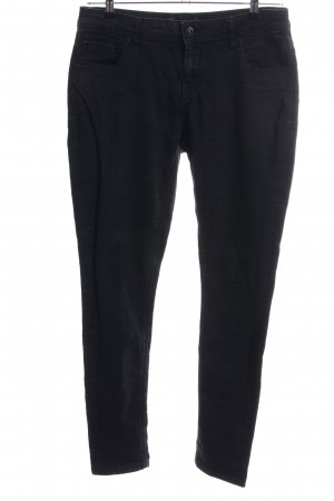 Bench Stretchhose schwarz Casual-Look