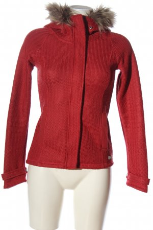 Bench Strickjacke rot Casual-Look