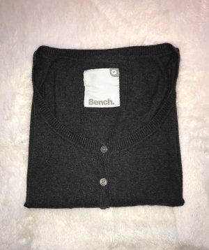 BENCH Strickjacke - grau - M