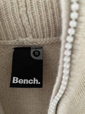 Bench Cappotto a maglia beige chiaro-crema