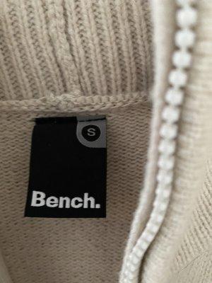 Bench Manteau en tricot beige clair-crème