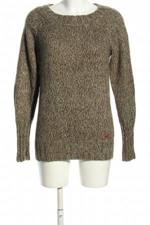 Bench Strickpullover hellgrau Casual-Look