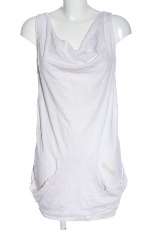 Bench T-shirts en mailles tricotées blanc imprimé avec thème