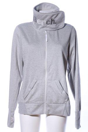 Bench Sweat Jacket light grey flecked casual look