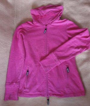 BENCH Sweatjacke Gr. M in pink