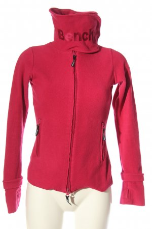 Bench Sweatjacke pink Casual-Look