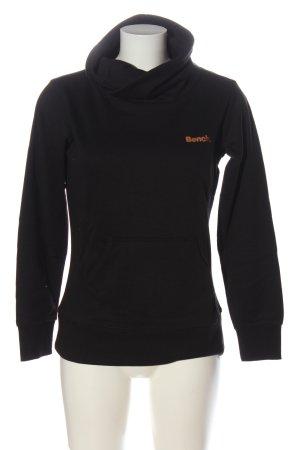 Bench Sweatshirt schwarz Casual-Look