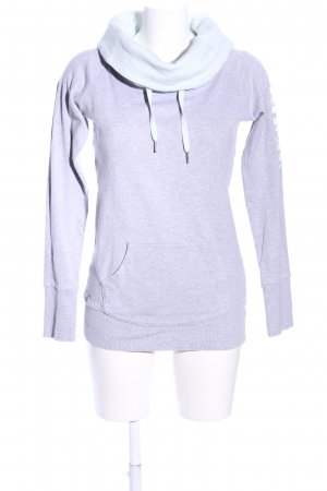 Bench Sweatshirt hellgrau meliert Casual-Look