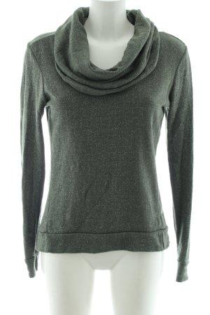 Bench Sweatshirt khaki Allover-Druck Casual-Look