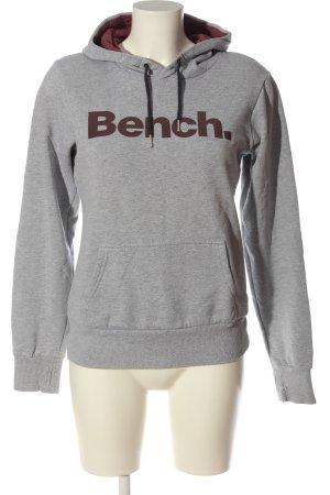 Bench Sweat Shirt light grey flecked casual look