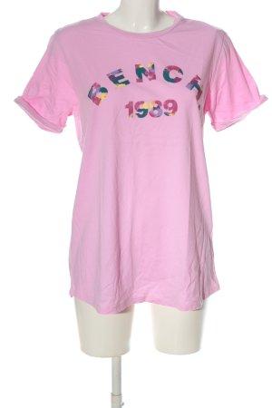 Bench T-Shirt Schriftzug gedruckt Casual-Look