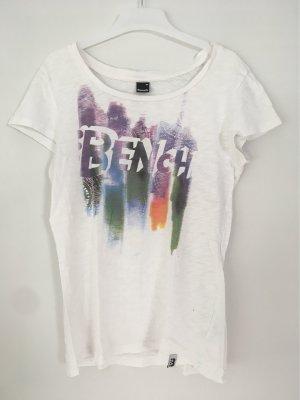 Bench T-shirt mit Logoprint