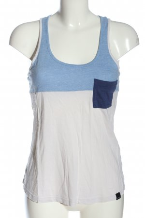 Bench Tank Top white-blue flecked casual look