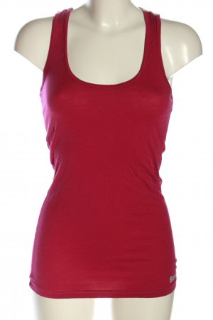 Bench Tanktop rot-hellgrau Casual-Look