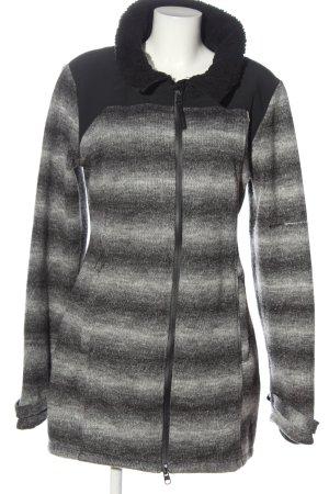 Bench Between-Seasons Jacket black-light grey color gradient casual look