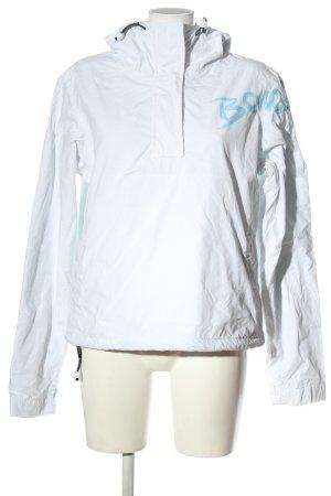 Bench Kurtka przejściowa biały Wydrukowane logo W stylu casual