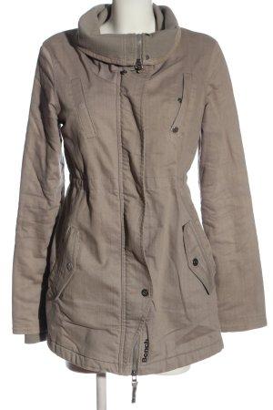 Bench Manteau mi-saison gris clair style décontracté