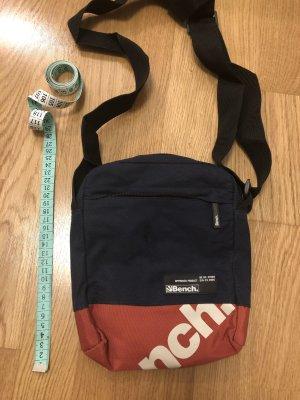 Bench Crossbody bag brick red-dark blue
