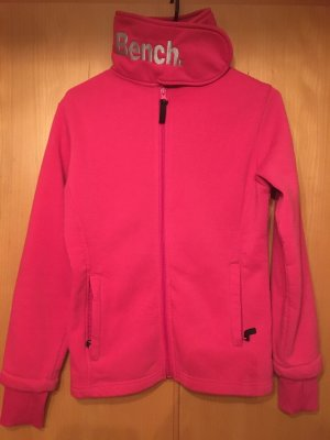 Bench Gilet polaire rouge framboise