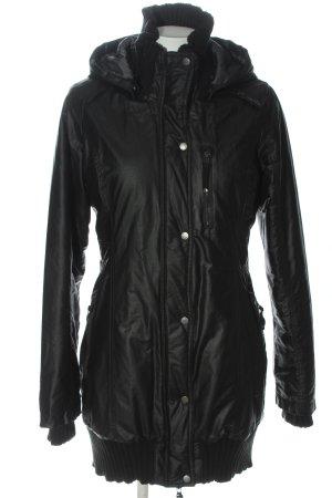Bench Winter Jacket black casual look