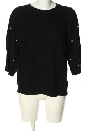 Benedetta B. Crewneck Sweater black casual look