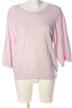Benedetta B. Gebreide trui roze casual uitstraling