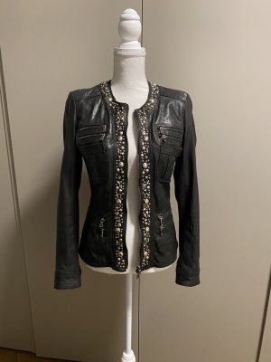 Benedetta Novi Leather Jacket black leather