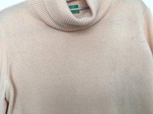Benetton Cashmere Jumper apricot-pink cashmere