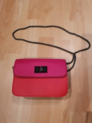 Benetton Mini sac rouge-rouge fluo