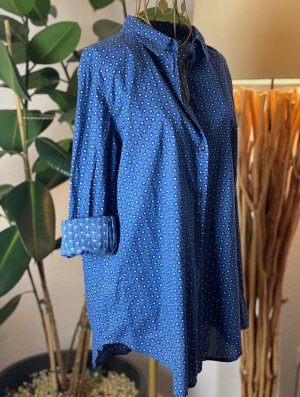 Benetton Bluzka o kroju koszulki niebieski