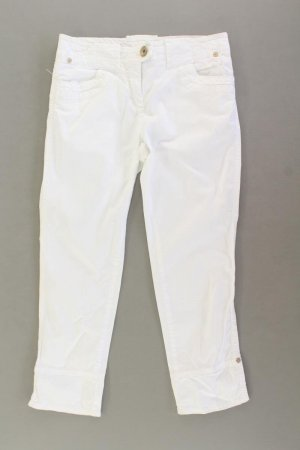 Benetton 7/8 Length Trousers natural white cotton